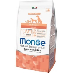 Корм для собак Monge Speciality Adult All Breed Salmon/Rice 12 kg