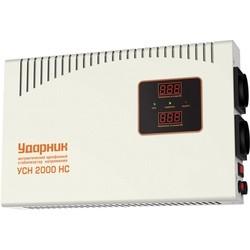 Стабилизатор напряжения Udarnik USN 2000 NS