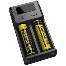 Зарядка аккумуляторных батареек Nitecore Intellicharger NEW i2